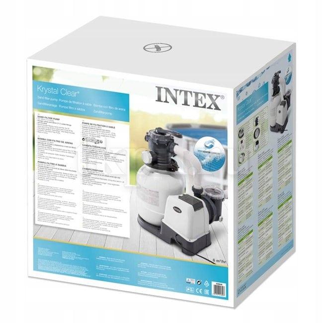 Песочный фильтрующий насос 6000 л/ч Intex 26646