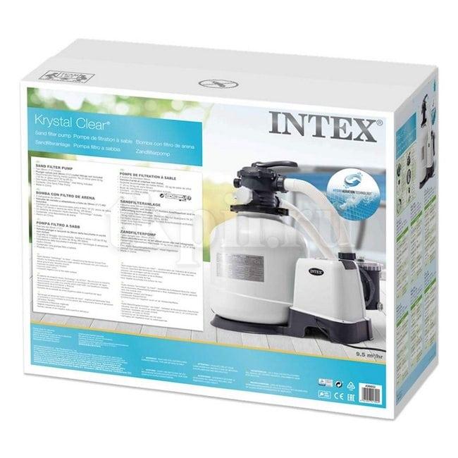 Песочный фильтрующий насос 9500 л/ч Intex 26652