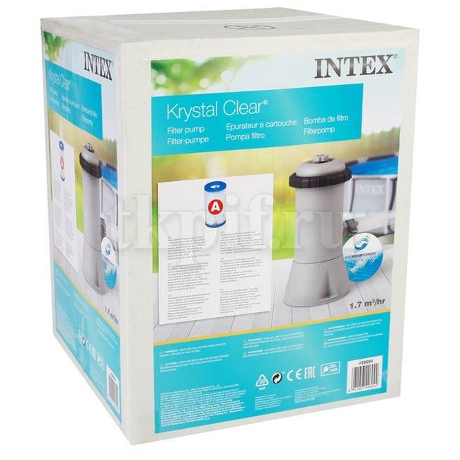Картриджный фильтрующий насос 2006 л/ч Intex 28604