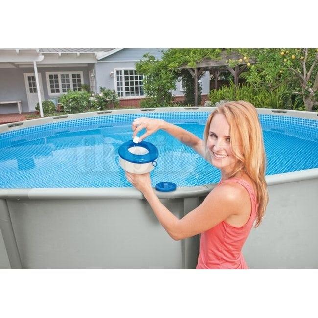 Плавающий дозатор для химии Intex 29041