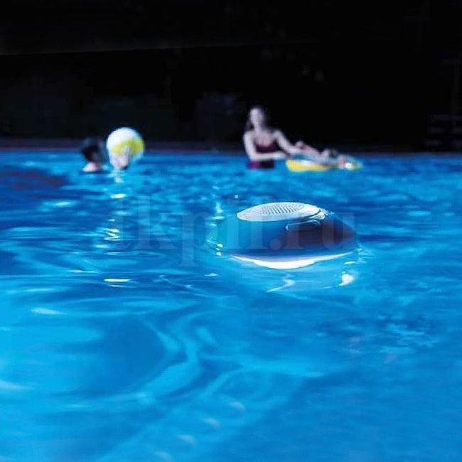 Плавающая Bluetooth-колонка с подсветкой Intex 28625