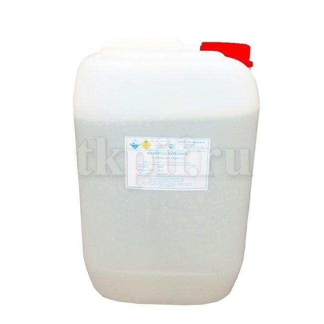 Перекись водорода медицинская 35-40%, 11.4кг