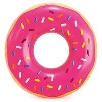 Круг Пончик розовый 99см Intex 56256