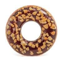 Круг Пончик шоколадный 114см Intex 56262