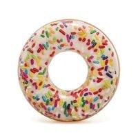 Круг Пончик с карамелью 114см Intex 56263