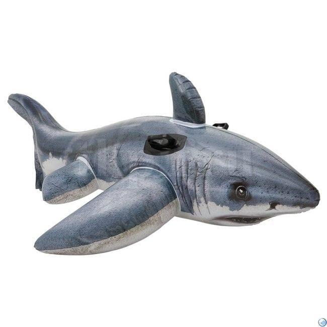 Белая акула 173х107см Intex 57525