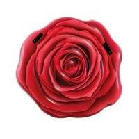Матрас Роза красная 137x132см Intex 58783