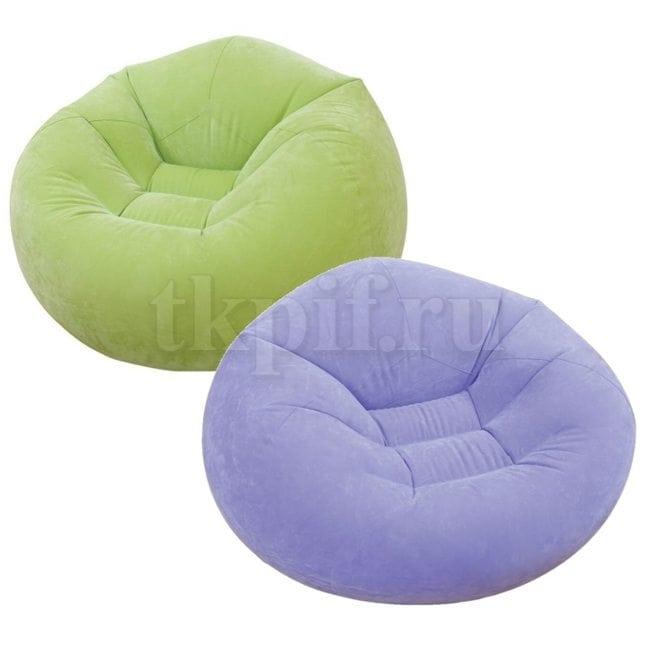 Кресло надувное 107x104x69см Intex 68569