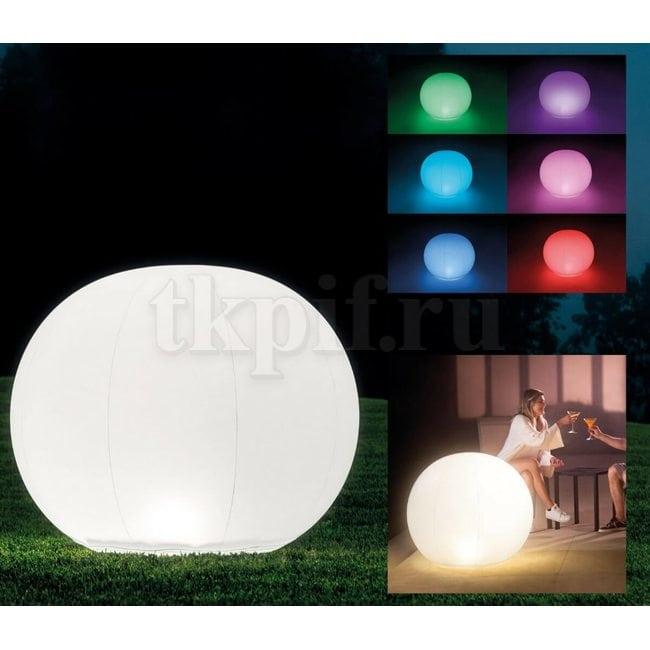 Светодиодная лампа Шар 89х79см Intex 68695
