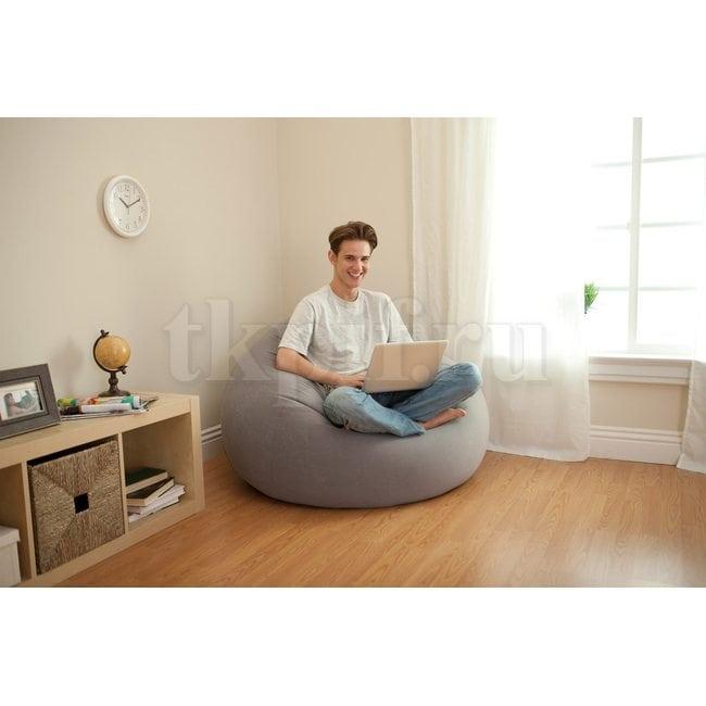 Кресло надувное 114х114х71см Intex 68579