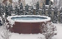 Можно ли оставлять бассейн на зиму?