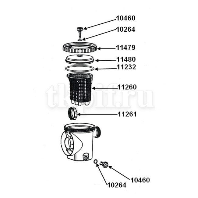 Скиммер Intex 11371